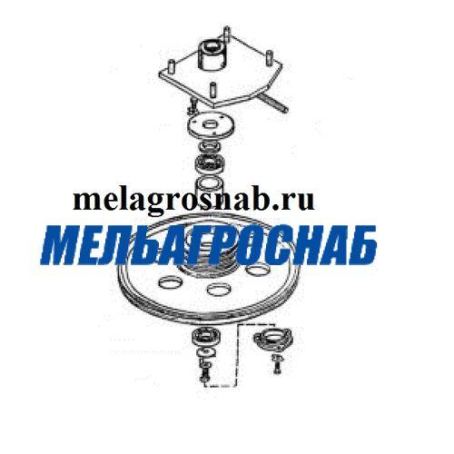 МЕЛЬНИЧНО-ЭЛЕВАТОРНОЕ ОБОРУДОВАНИЕ - Контрпривод БЦС 01.040