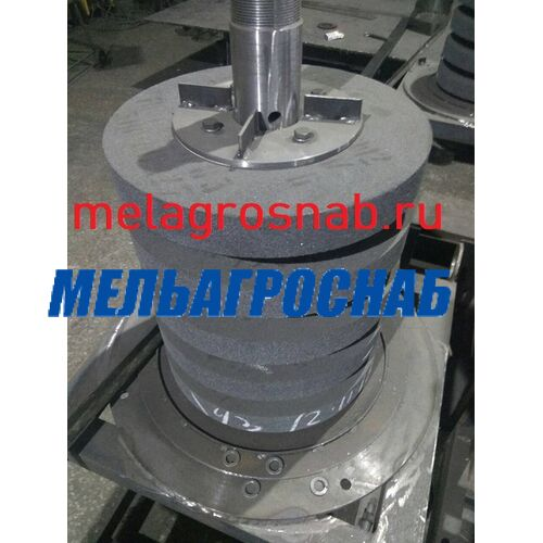МЕЛЬНИЧНО-ЭЛЕВАТОРНОЕ ОБОРУДОВАНИЕ - Абразивные круги к оборудованию по переработке зёрна на крупу УКР-2