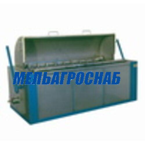 МЯСОПЕРЕРАБАТЫВАЮЩЕЕ ОБОРУДОВАНИЕ - Чан шпарильный со скребмашиной (1 вал) ПМ-ФЧШ-С, (2 вала) ПМ-ФЧШ-С2