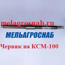 Червяк на КСМ-100