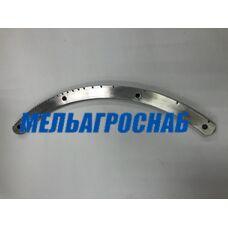 Зубчатый сектор МНРТ (нерж. ст.)