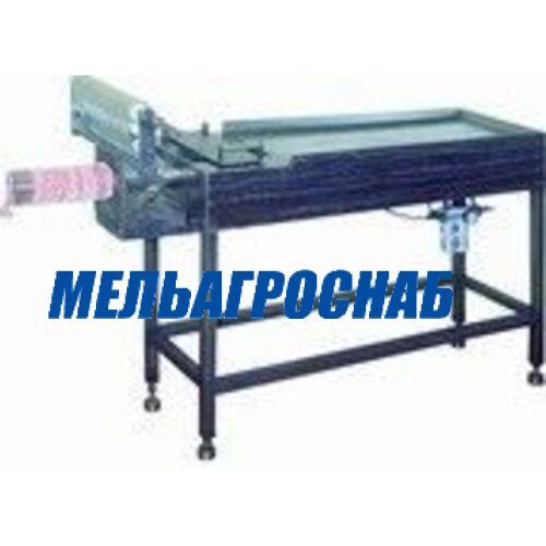 МЯСОПЕРЕРАБАТЫВАЮЩЕЕ ОБОРУДОВАНИЕ - Наполнитель (аппликатор) пневматический ПМ-ФНП-120
