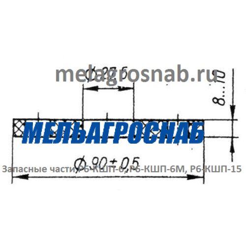 МЕЛЬНИЧНО-ЭЛЕВАТОРНОЕ ОБОРУДОВАНИЕ - Прокладка А1-БЗН.17.015