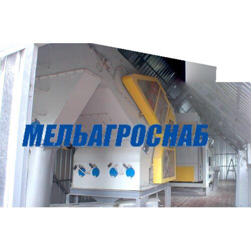МЕЛЬНИЧНО-ЭЛЕВАТОРНОЕ ОБОРУДОВАНИЕ - Сепаратор предварительной очистки зерна  СПО-80