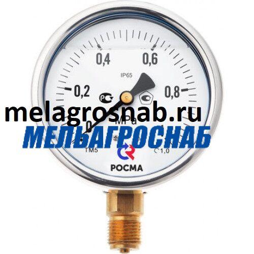ПОДЪЁМНО-ТРАНСПОРТНОЕ ОБОРУДОВАНИЕ - Манометр ТМ-520 (с переходником и глицериновым заполнением)
