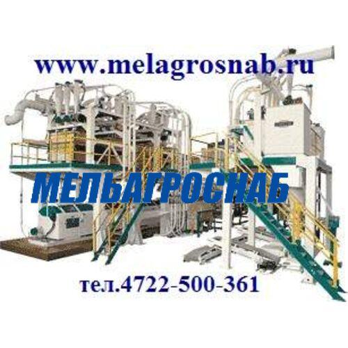 МЕЛЬНИЧНО-ЭЛЕВАТОРНОЕ ОБОРУДОВАНИЕ - Агрегатная вальцовая мельница Р6-АВМ-50