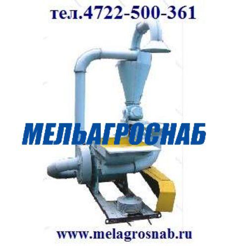 МЕЛЬНИЧНО-ЭЛЕВАТОРНОЕ ОБОРУДОВАНИЕ - Кормодробилка КД-2 (КДУ-2,0), КД-2-01