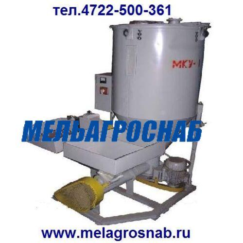 МЕЛЬНИЧНО-ЭЛЕВАТОРНОЕ ОБОРУДОВАНИЕ - Миникомбикормовая установка МКУ-0,5, МКУ-1