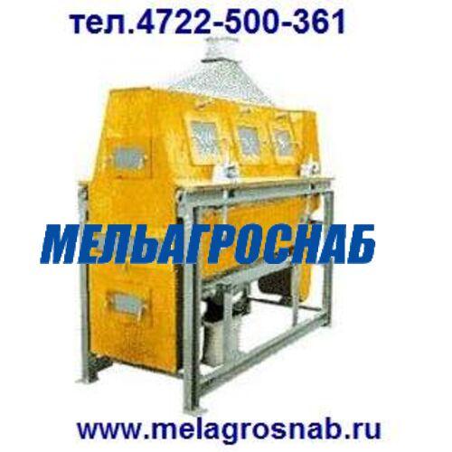 МЕЛЬНИЧНО-ЭЛЕВАТОРНОЕ ОБОРУДОВАНИЕ - Ситовеечная машина Р6-СВМ