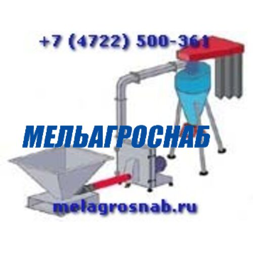 МЕЛЬНИЧНО-ЭЛЕВАТОРНОЕ ОБОРУДОВАНИЕ - Агрегат размольно-смесительный АРС-Х400