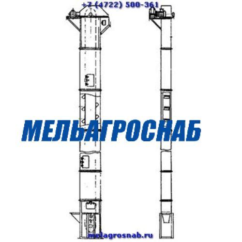 ОБОРУДОВАНИЕ ДЛЯ САХАРНОЙ ПРОМЫШЛЕННОСТИ - Элеватор ленточный для белого сахара ЭЛГ - 250