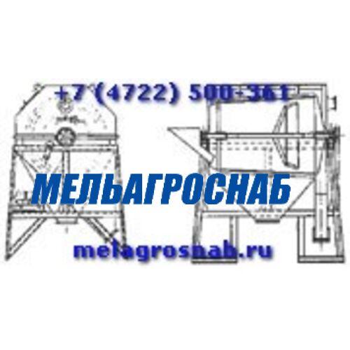 ОБОРУДОВАНИЕ ДЛЯ САХАРНОЙ ПРОМЫШЛЕННОСТИ - Комкоотделитель ротационный марки Ш52-ПКР-20