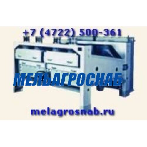 МЕЛЬНИЧНО-ЭЛЕВАТОРНОЕ ОБОРУДОВАНИЕ - Сепаратор А1-БИС-100