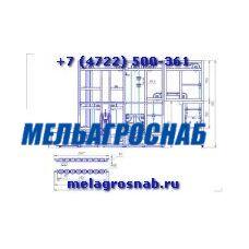 Шкаф окончательной расстойки Г4-ХРП-2,1-25П