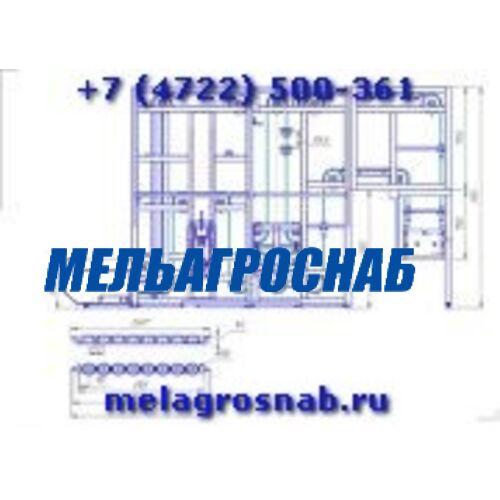 ОБОРУДОВАНИЕ ДЛЯ ХЛЕБОПЕКАРНОЙ И КОНДИТЕРСКОЙ ПРОМЫШЛЕННОСТИ - Шкаф окончательной расстойки Г4-ХРП-2,1-25П