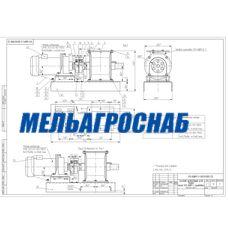 Питатель шлюзовый для муки У13-БШП/2