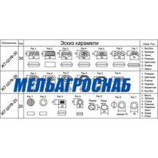 Узлы формирования карамели Ж7-ШУФ-30, Ж7-ШУФ-26, Ж7-ШУФ-20