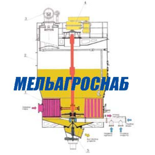 ОБОРУДОВАНИЕ ДЛЯ САХАРНОЙ ПРОМЫШЛЕННОСТИ - Вакуум-аппарат ВА2-В-60 с механическим циркулятором
